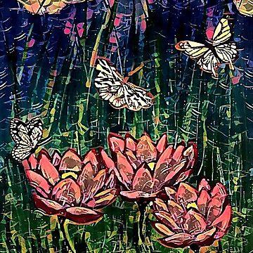 Garden Rain by ArtsyRaine