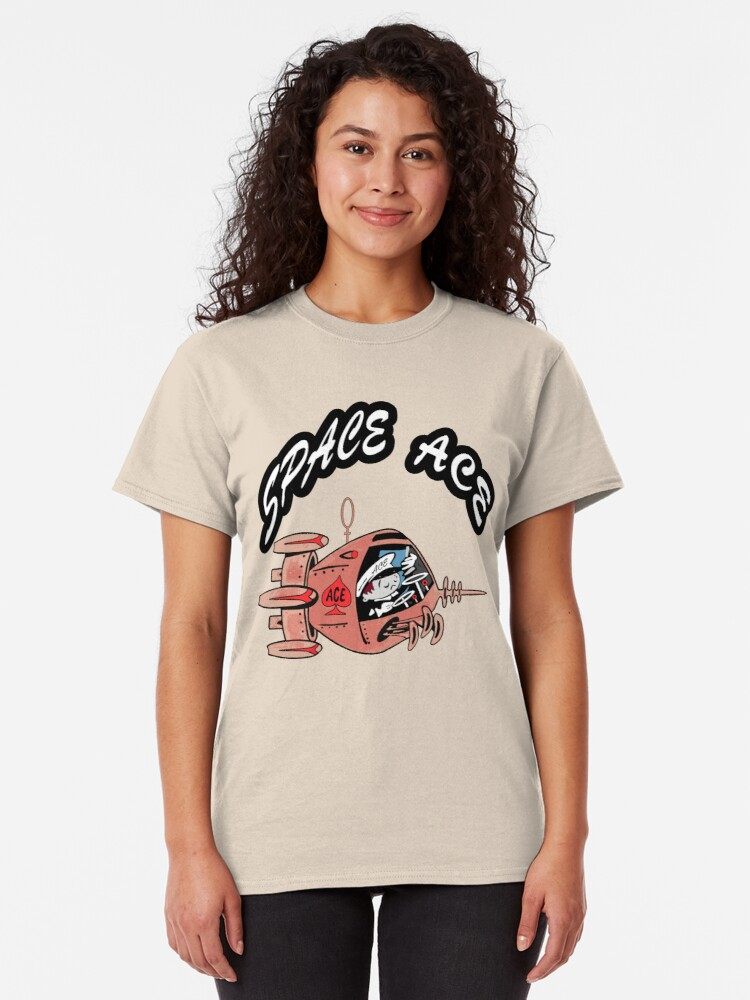 Alternate view of Space Ace , Squeek Delivers it All ! Classic T-Shirt