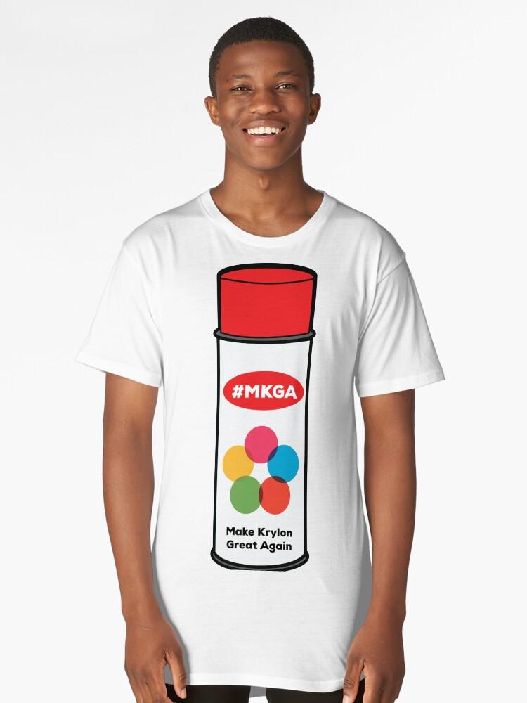 Make Krylon Great Again - Can Long T-Shirt Front