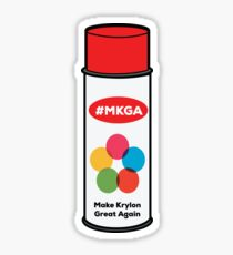 Make Krylon Great Again - Can Sticker