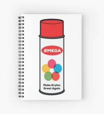 Make Krylon Great Again - Can Spiral Notebook