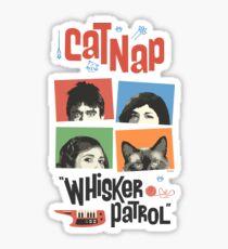 "Portlandia - Cat Nap ""Whisker Patrol"" Band Merchandise Sticker"