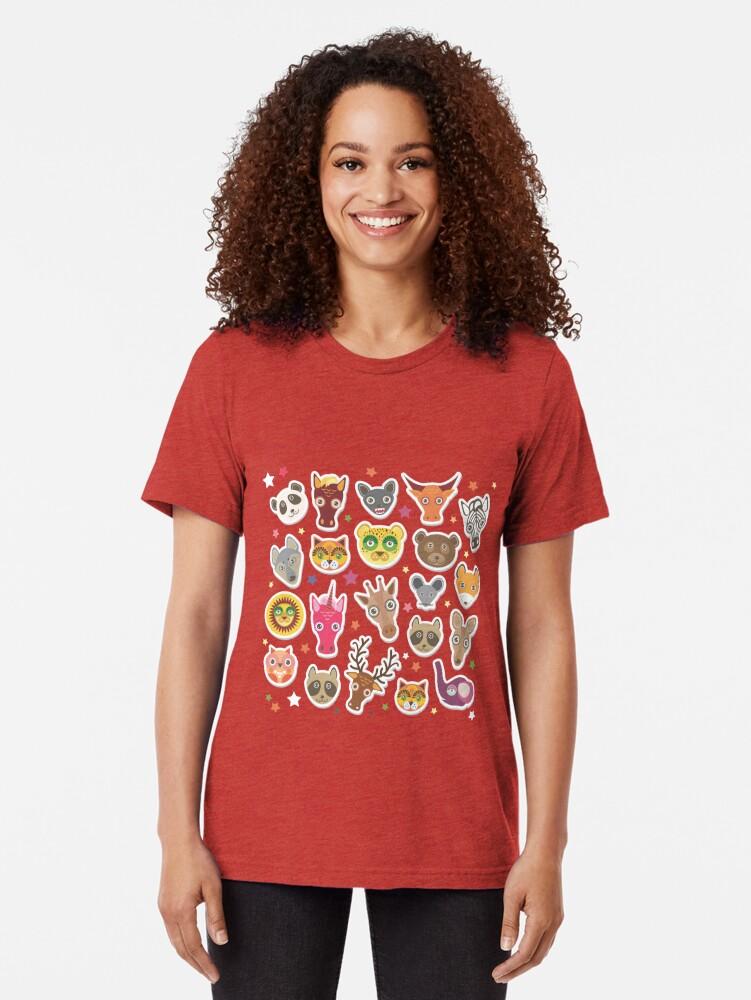 Alternative Ansicht von lustige Tiere Maulkorb Vintage T-Shirt