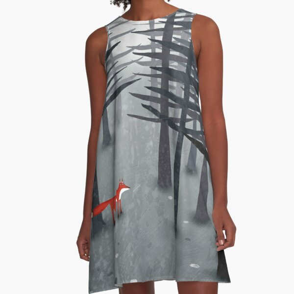 The Fox and the Forest A-Line Dress