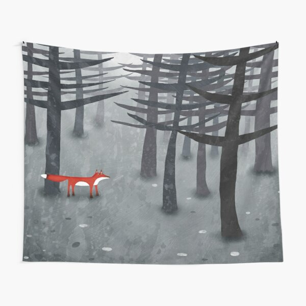 The Fox and the Forest Tapestry