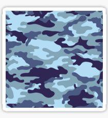 Water Sea Camouflage Sticker