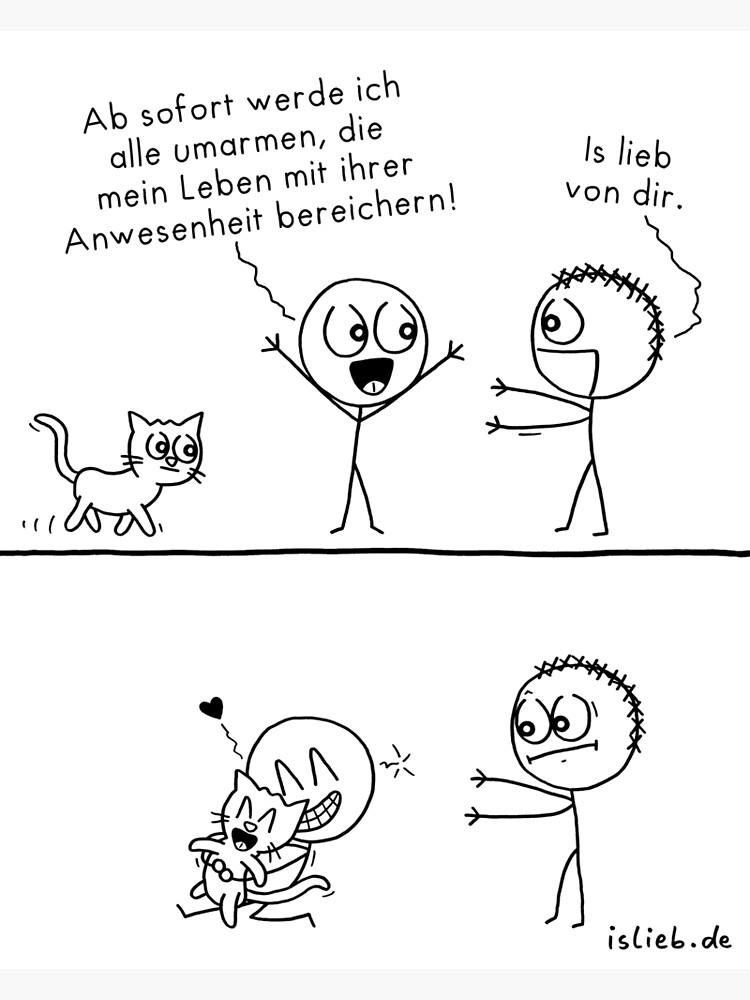 Alle umarmen islieb-Comic von islieb
