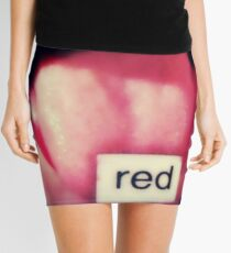 red (featured work) Mini Skirt