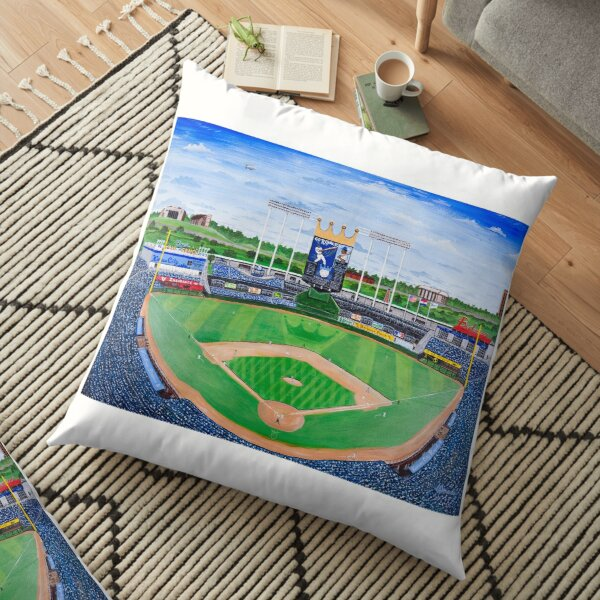 An Amazing Game at the K  Floor Pillow