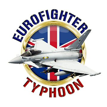 Eurofighter Typhoon by BasilBarfly