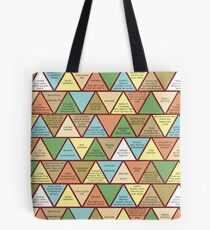 Swanson Pyramid of Greatness Tote Bag