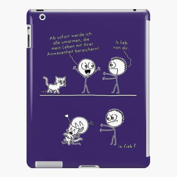 Alle umarmen islieb-Comic iPad – Leichte Hülle