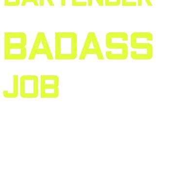 badass bartender Shots Party Alcohol trust me Bartender Beer Waiter Liquor Bistro Glass Tequila by Customdesign200