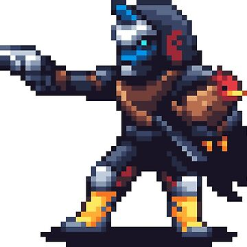Hunter Vanguard Pixelart by spykles