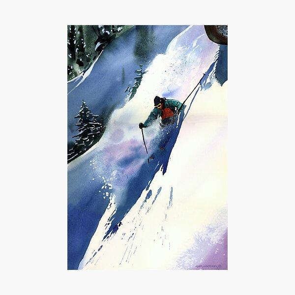 Extreme Downhill Photographic Print