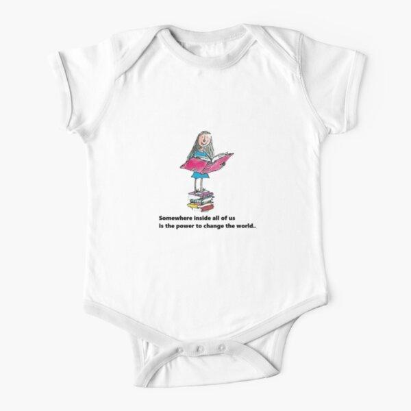 Matilda bookworm Short Sleeve Baby One-Piece