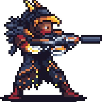 Osiris Pixelart by spykles