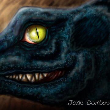 Cheeky Dragon by mydragonzeatyou