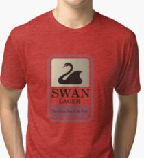 Swan Lager - Made In WA Tri-blend T-Shirt