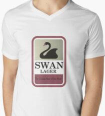 Swan Lager - Made In WA Men's V-Neck T-Shirt
