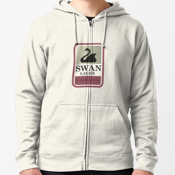 Swan Lager - Made In WA Zipped Hoodie