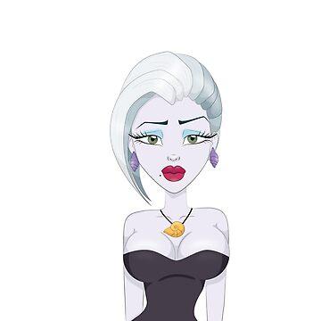 Ursula Sexy Sea Creature Villain by Bridde21