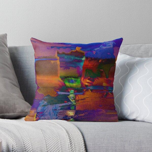 Water4 Throw Pillow