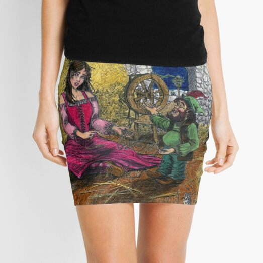 Golden Opportunity Mini Skirt