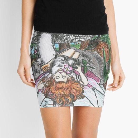 Mushroom Fairy Mini Skirt