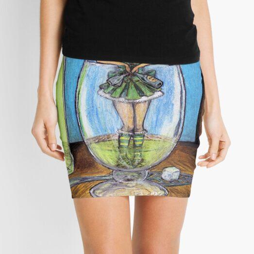 The Green Fairy Mini Skirt
