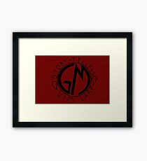 LARP GM Framed Print