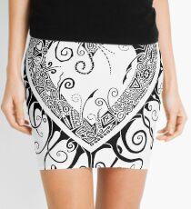 I Doodle Love You Mini Skirt