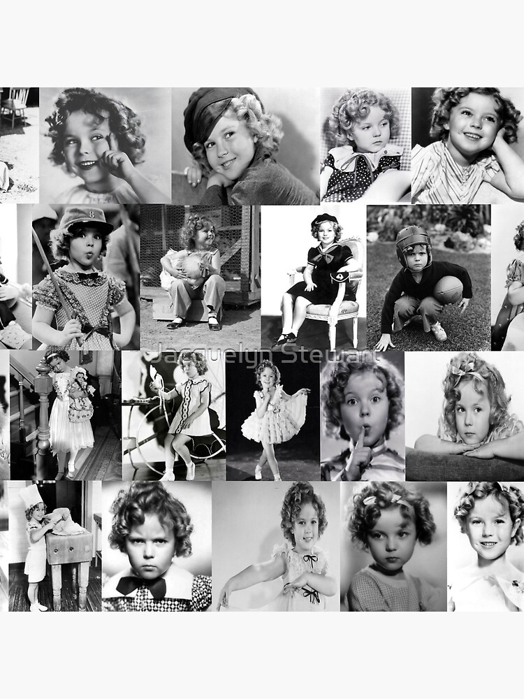 Shirley Temple Collage by AtticSalt