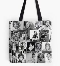 Shirley Temple Collage Tote Bag