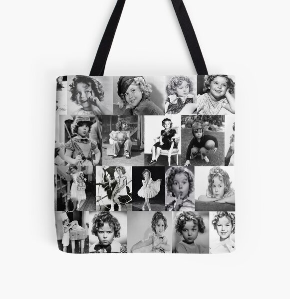Shirley Temple Collage All Over Print Tote Bag