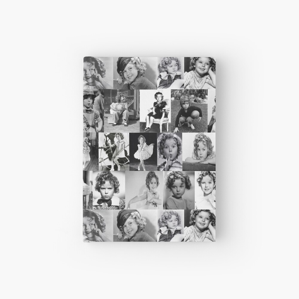 Shirley Temple Collage Hardcover Journal