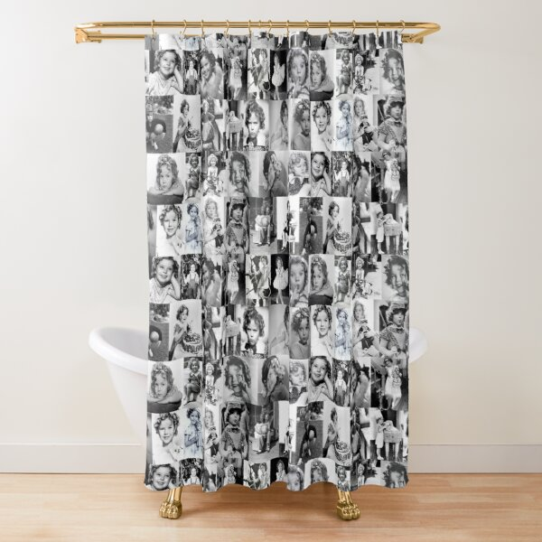 Shirley Temple Collage Shower Curtain