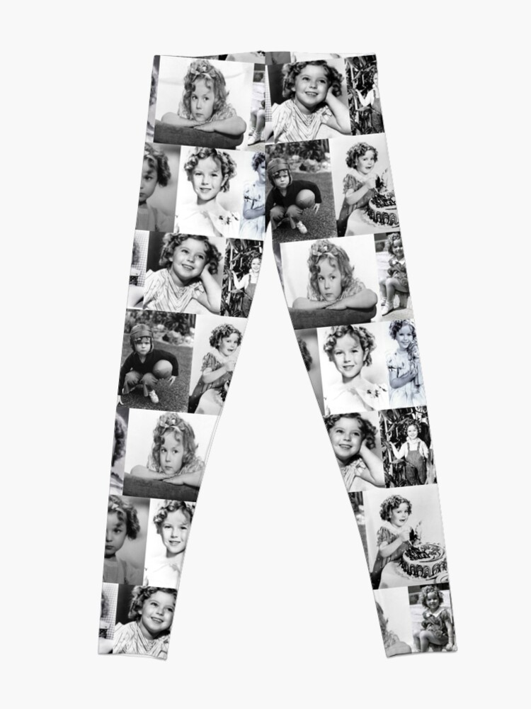 Alternate view of Shirley Temple Collage Leggings