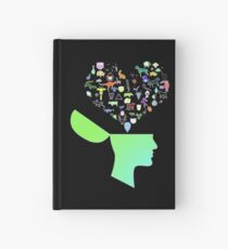 Head & Mind filled with Animal thoughts Hardcover Journal