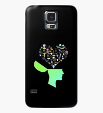 Head & Mind filled with Animal thoughts Case/Skin for Samsung Galaxy