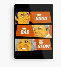 The Good the Bad and the Slow Metal Print