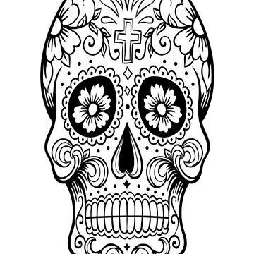 Skulls  spiral  notebook  by heryca29