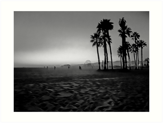 Santa Monica Beach von anafrancisconi