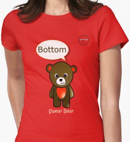 Geek Girl - SwearBear - Bottom T-Shirt