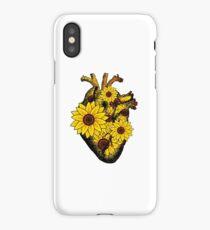 Summer Sunflower Heart  iPhone Case