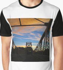 Draw Bridge, Isleton, Callifornia. 7-5-2018 Graphic T-Shirt