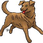 Chesapeake Bay Retriever by Jennifer Stolzer