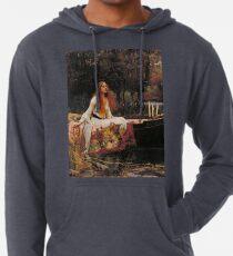 Lady of Shallot - John William Waterhouse Lightweight Hoodie