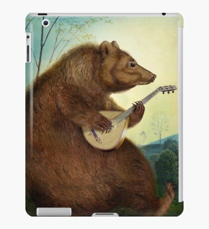 Mandolin Bear iPad Case/Skin