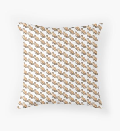 Big Tabby Cat Floor Pillow